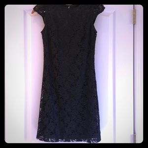 Kensie black with lace overlay dress - worn once!